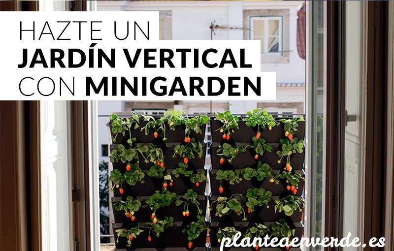 C mo hacer un jard n vertical con minigarden plantea en for Como se construye un jardin vertical