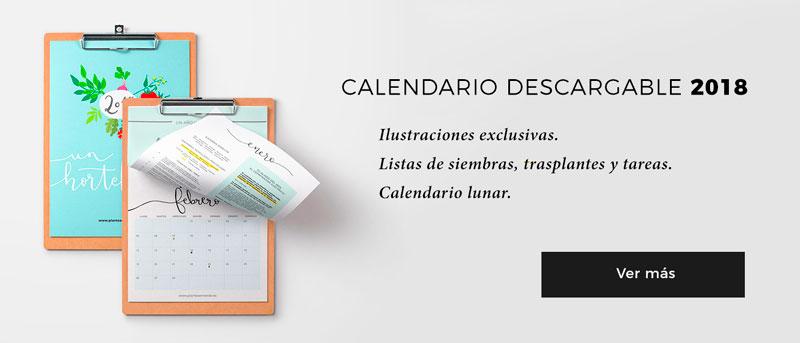 Calendario hortelano