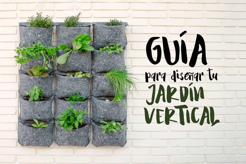 Gu a para dise ar un jard n vertical en el huerto urbano for Plantas recomendadas para jardin vertical