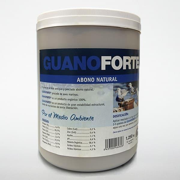 guanoforte abono natural formato 1,25 kg