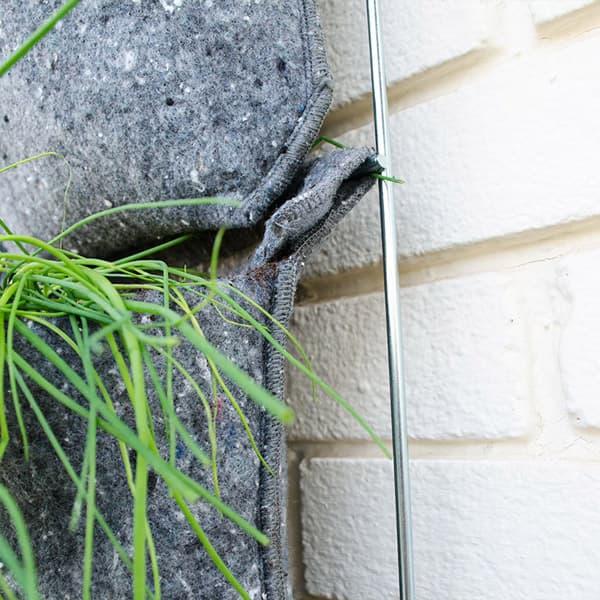 Jard n vertical vertiflor para 15 plantas plantea en verde for Jardin vertical reciclado