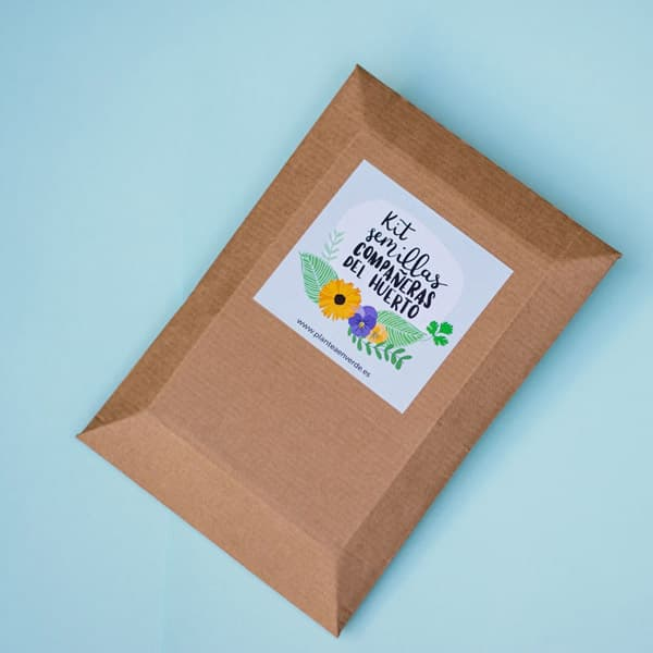 kit de semillas compañeras del huerto