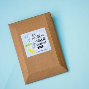 kit de semillas huerto medicinal