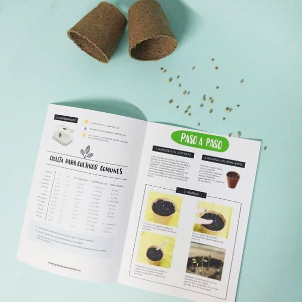 guía de siembra en semilleros