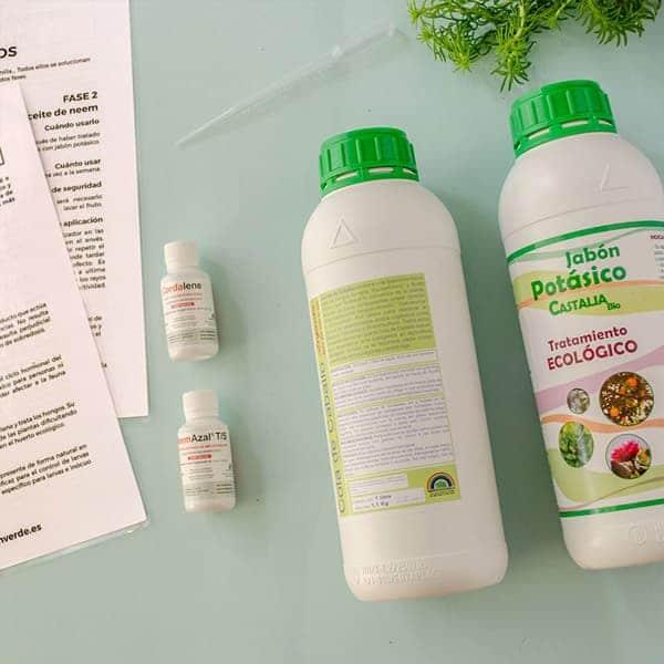 Kit de tratamientos ecológicos pro